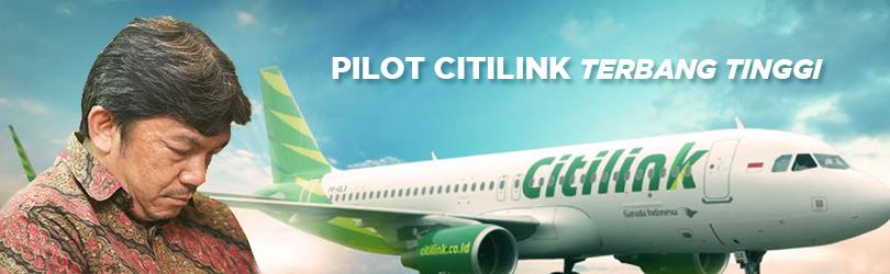 Gambar Topik Berita Pilot Citilink Terbang Tinggi