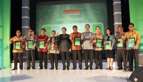Foto Berita Inilah Pemenang  Social Business Innovation Award & Green CEO Award 2015