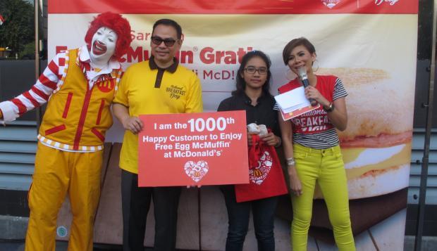 McDonald's Berbagi Sarapan dalam