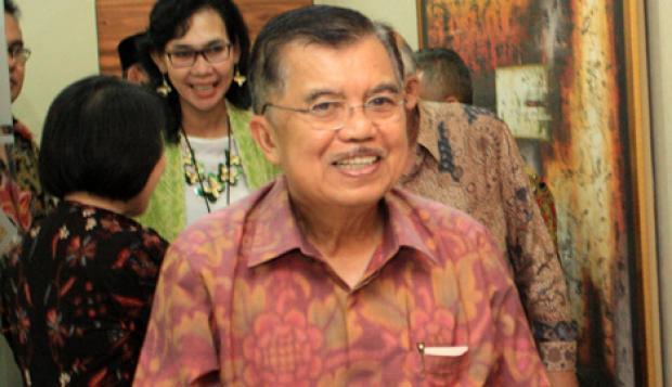 Foto Berita JK Hadiri Peluncuran Buku Antikorupsi