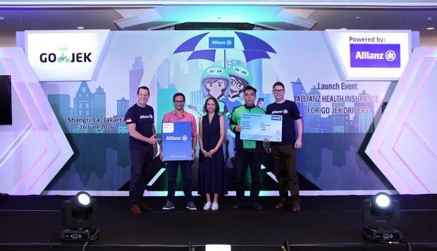 Allianz Life Tawarkan Asuransi Kesehatan bagi Driver Gojek - Warta Ekonomi