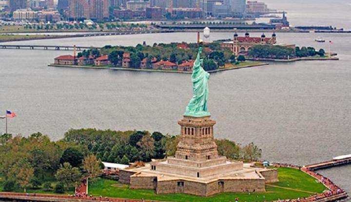 Foto Ekonomi AS Kuartal Kedua Tumbuh 1,2 Persen