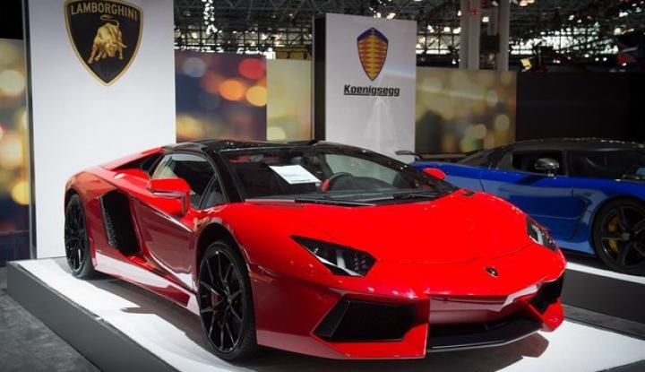 Luncurkan SUV, Lamborghini Naikkan Target Penjualan - Warta Ekonomi