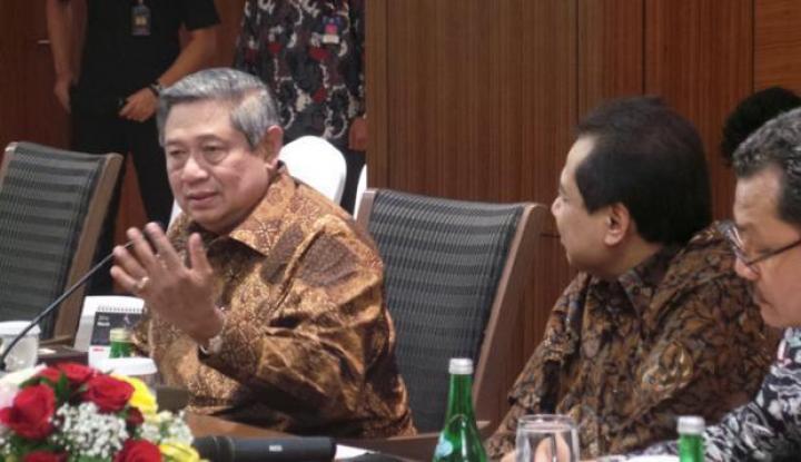 Foto SBY Angkat Bicara Terkait Pembangunan Ekonomi di Indonesia