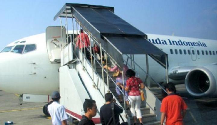 Foto Jadwal Penerbangan Garuda Terganggu Karena