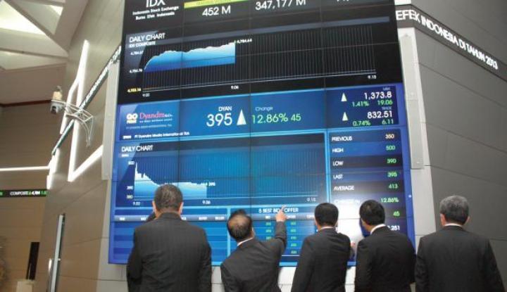 Investor cari Alasan, Saham di wall Street Menurun - Warta Ekonomi