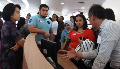 Foto Berita Finalis Regional Business Case Kunjungi Halo BCA