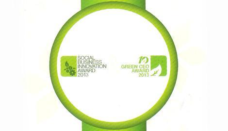Foto Berita Awarding Night: Social Business Innovation 2013 & The Best 10 Green CEO 2013