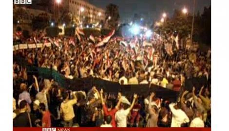 Foto Berita Mesir Membara: Demo Besar-Besaran Menyambut Setahun Presiden Mursi