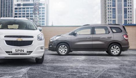 Foto Berita Ini Dia Harga Chevrolet Spin Bensin dan Diesel Produksi Indonesia