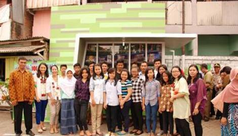 Foto Berita Yayasan Bulir Padi Resmikan Taman Baca Masyarakat