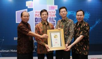 Foto BCA Raih Inovasi Digital Award