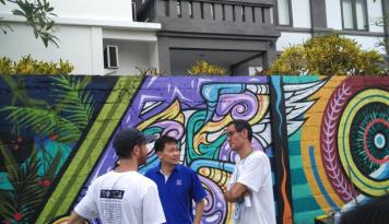 Foto Nippon Paint Dukung Penuh Pegelaran Bali Street Art Festival