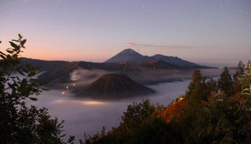 Foto Aktivitas Gunung Bromo Masih Belum Stabil