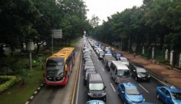 Foto Polda Metro Siapkan Empat Rute Pengalihan Ujicoba
