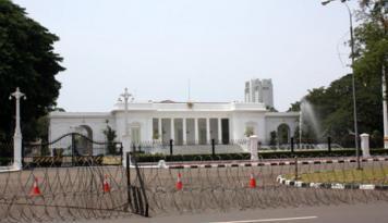 Foto Para Menteri Di-SMS Tak ke Luar Kota, Pratikno: Ada Sidang Kabinet