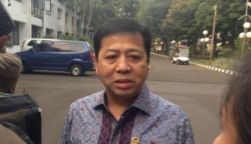 Foto Setnov: Dukungan Golkar Kepada Jokowi Tanpa Syarat