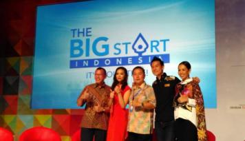 Foto Meraih Modal Usaha Rp1 Miliar di The Big Start Indonesia