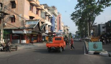 Foto Nasib Pedagang Aksara Medan Masih Merana