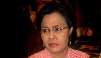 Foto Yenny Wahid: Sri Mulyani Angin Segar Perekonomian