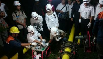 Foto CPP Matindok Tingkatkan Produksi Gas Nasional