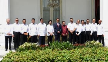 Foto Jokowi Yakin Kabinet Barunya akan Solid