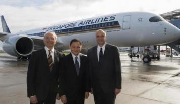 Foto Laba Bersih Singapore Airlines Kuartal Pertama Melonjak 182 Persen