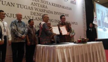 Foto APLI Dirugikan dengan Praktik Investasi Ilegal dan Skema Piramida