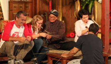 Foto Delegasi 18 Negera Lakukan Kunjungan Budaya ke Omah Kecebong