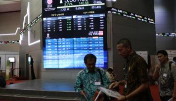 Foto BEI Hentikan Sementara Perdagangan Saham Semen Baturaja