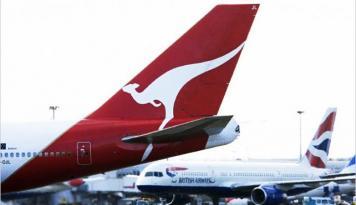 Foto Qantas Airlines Bukukan Kenaikan Laba Dua Kali Lipat