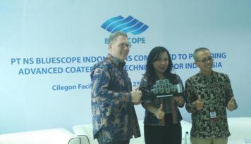 Foto BlueScope Indonesia Konsisten Lakukan Inovasi