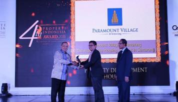 Foto Paramount Land Boyong Dua Penghargaan Properti