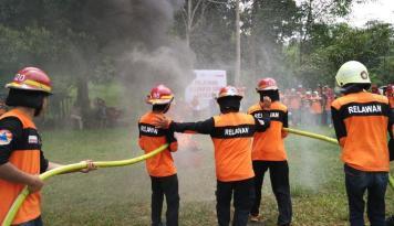 Foto BNPB: Asap Kebakaran Hutan di Riau Sudah Mencapai Singapura