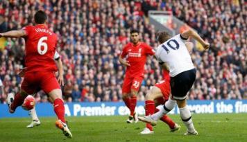 Foto Liverpool Ungguli Tottenham Hotspur Lewat Penalti