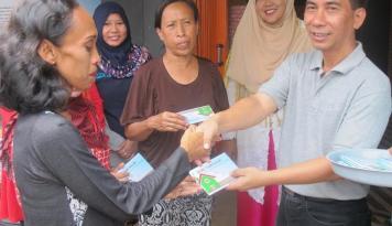 Foto Pelabuhan Tanjung Priok Resmikan Bank Sampah Komunitas Koja Bersama