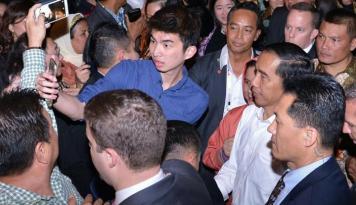 Foto Jokowi Berencana Temui Masyarakat Indonesia di Shanghai