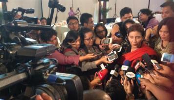 Foto Wih, Menteri Susi Semarakkan Ajang Jember Fashion Carnaval