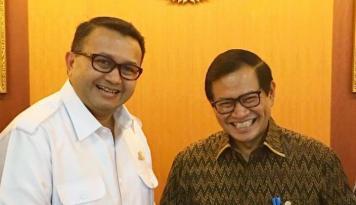 Foto Pramono Anung Dorong Roadmap Humas Indonesia