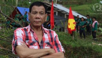 Foto Presiden Filipina: Obama Harus Dengarkan Saya Sebelum Bicarakan HAM