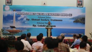Foto Lukdir Gultom Dilantik Jadi Kepala KR 5 Sumbagut OJK