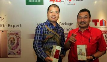 Foto Bundling OPPO F1s-Telkomsel Sediakan Kuota Data 14 GB