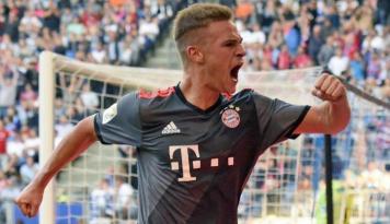 Foto Berkat Gol Kimmich, Bayern Taklukkan Hamburg 1-0