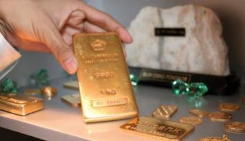 Foto Peride Agustus Penjualan Emas Pegadaian Medan Meningkat