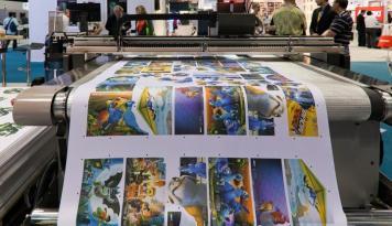 Foto Pertumbuhan Digital Printing Tertekan Perlambatan Ekonomi Global