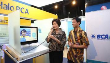 Foto BCA Genjot Transaksi Kartu Kredit Nasabah Kaya