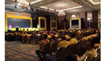 Foto Bahas Kebijakan Pemerintah, Golkar Gelar Pertemuan Nasional