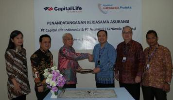 Foto Asuransi Cakrawala Proteksi-Capital Life Kerja Sama Co-Insurance