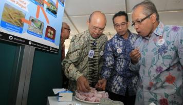 Foto BNI Fasilitasi Transaksi Penjualan Produk Pertanian IPB
