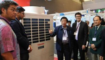 Foto Penjualan AC Carrier – Toshiba  Melesat, Begini Kata Murdaya Po